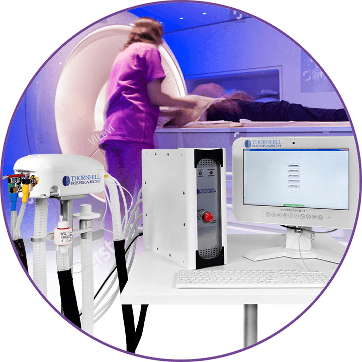 RespirAct® equipment in a scanning facility